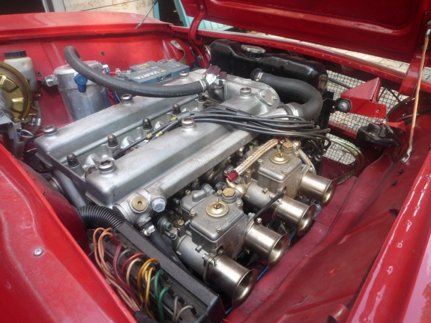 ALFA ROMEO GTA engine