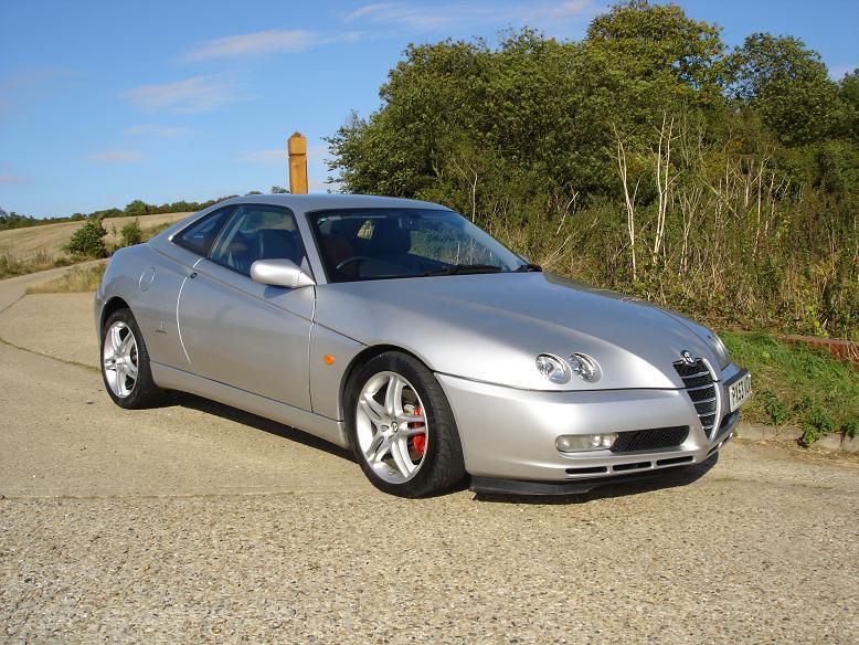 ALFA ROMEO GTV 3.2 V6 silver