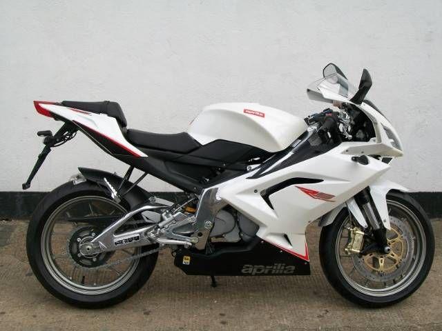 APRILIA 125 white