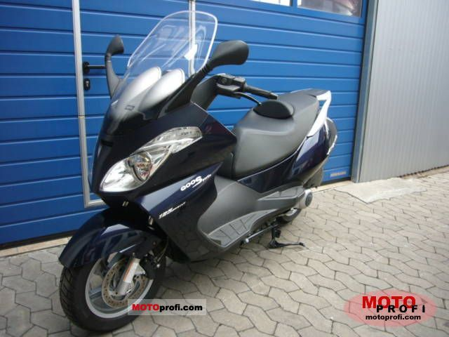 APRILIA ATLANTIC 125 red