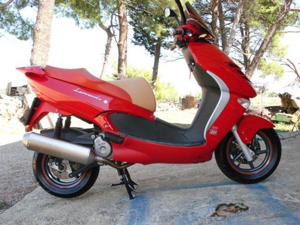 APRILIA LEONARDO red
