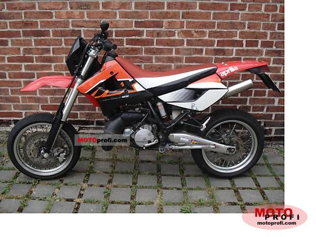 APRILIA MX 125 brown