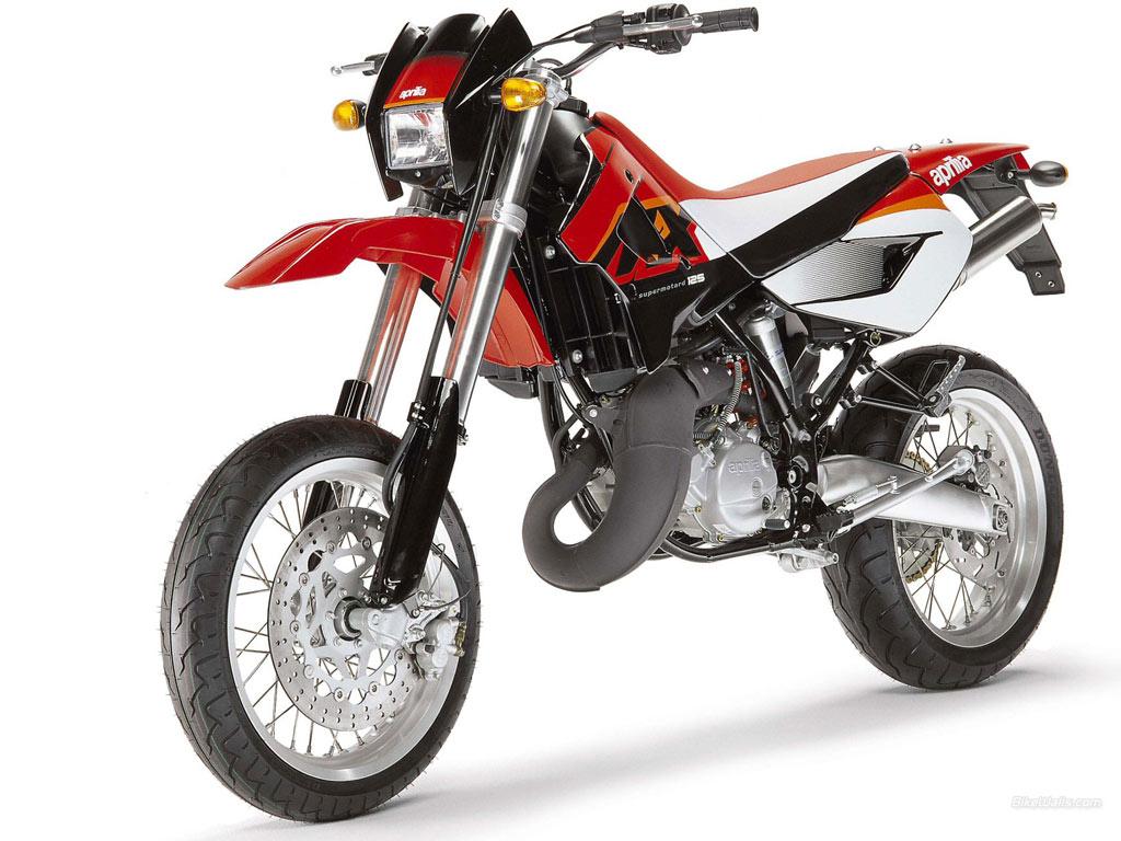 APRILIA MX 125 white