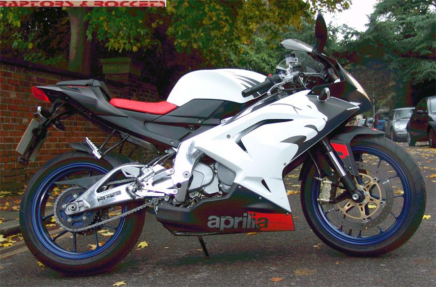 APRILIA RS125 brown