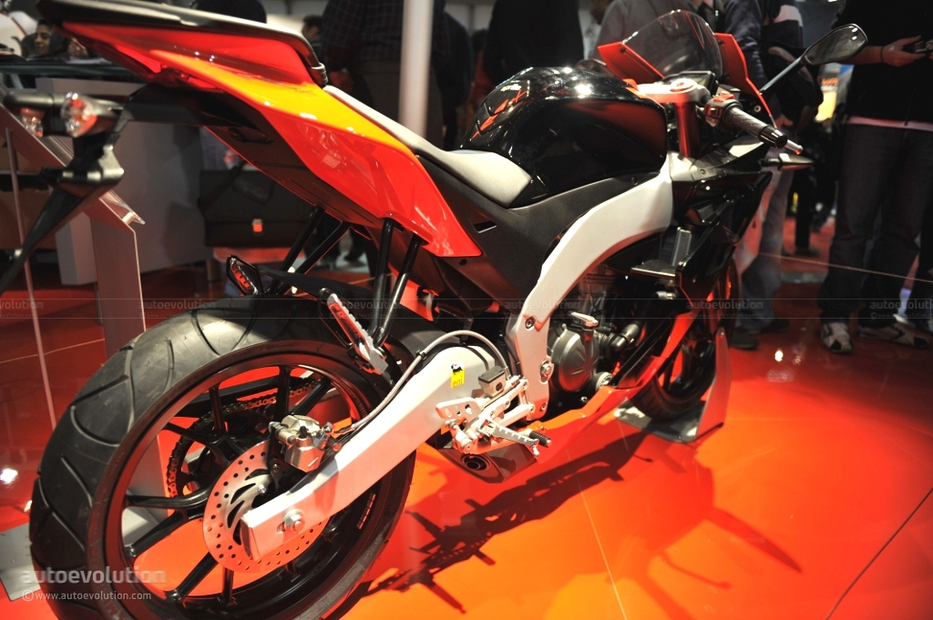 APRILIA RS4 125 brown