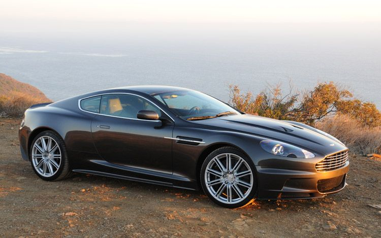 ASTON MARTIN DBS brown