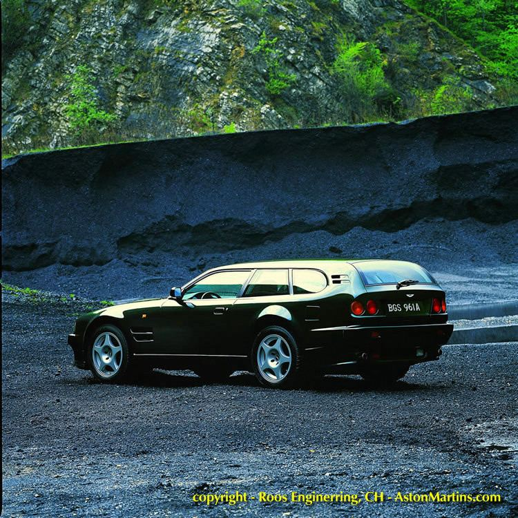ASTON MARTIN VIRAGE SHOOTING BRAKE black