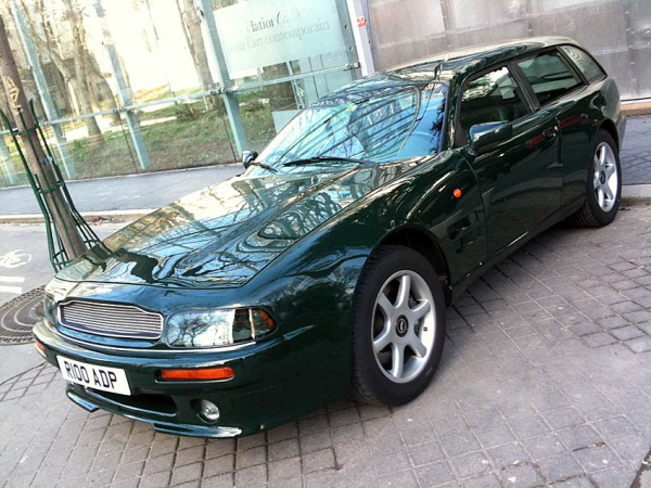 aston martin virage shooting brake
