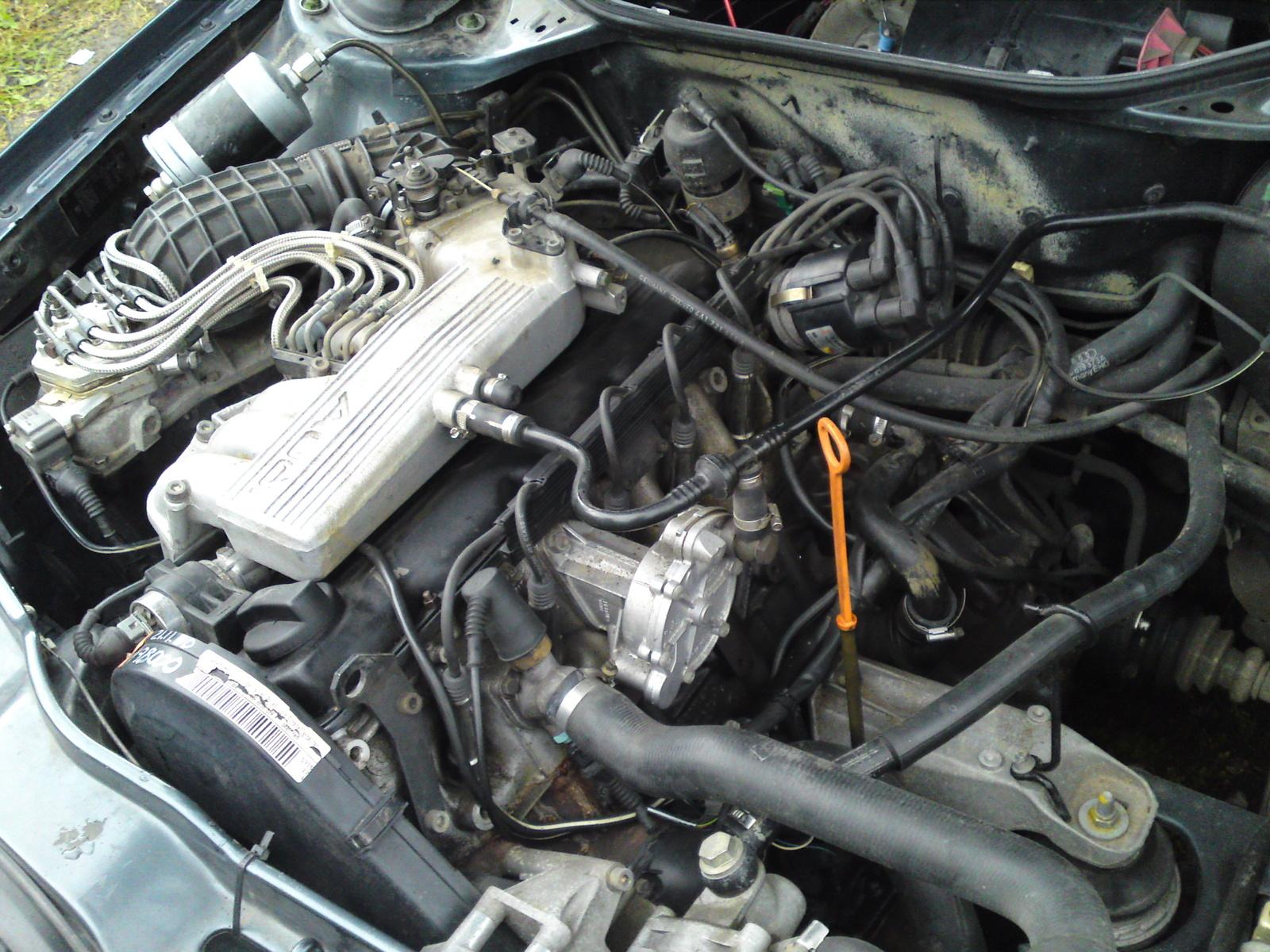 AUDI 100 S4 engine