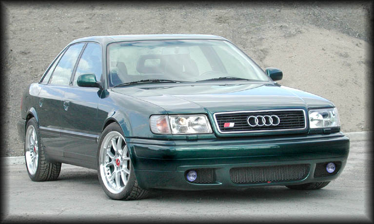 AUDI 100 S4 green