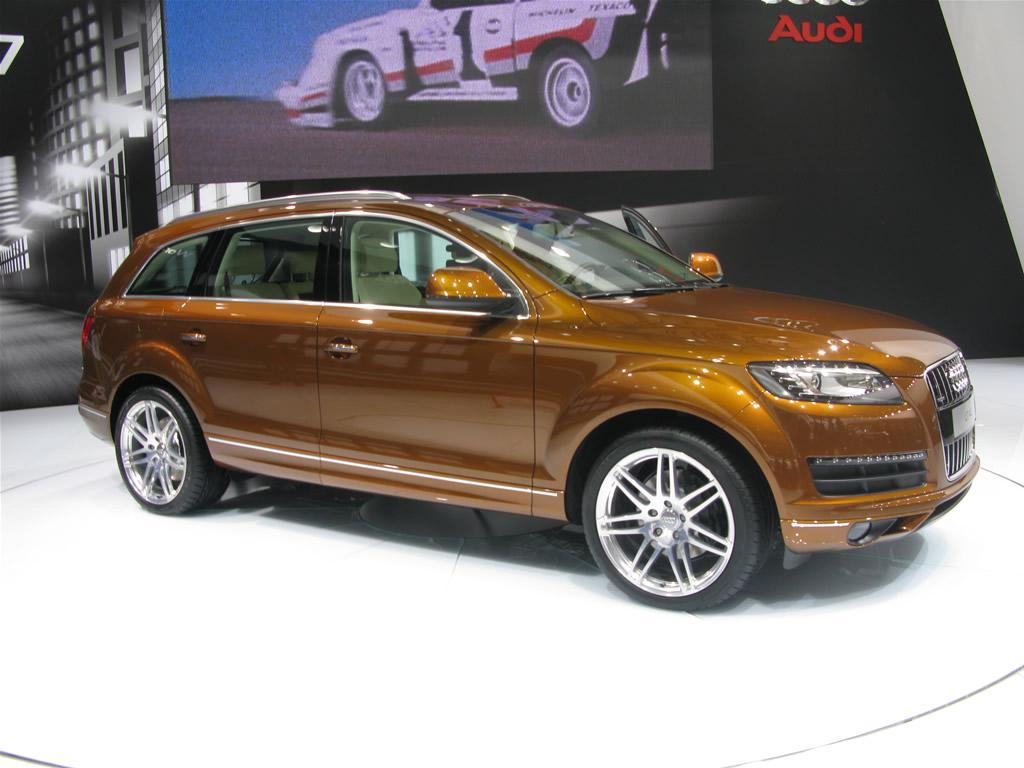 AUDI 100 brown