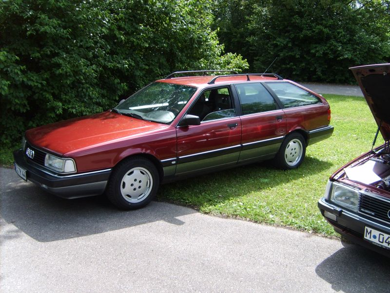 AUDI 200 red