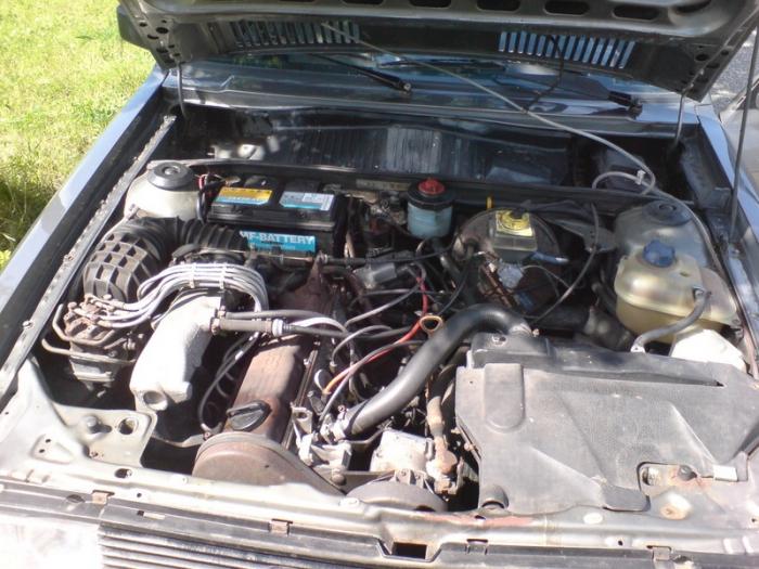 AUDI 90 2.2 interior