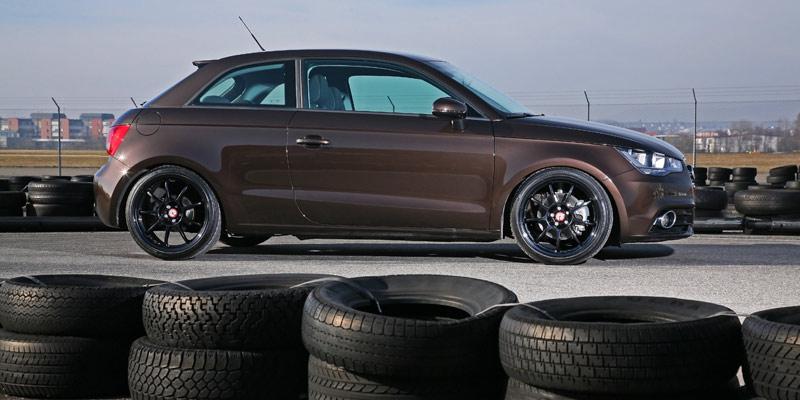 AUDI A1 brown