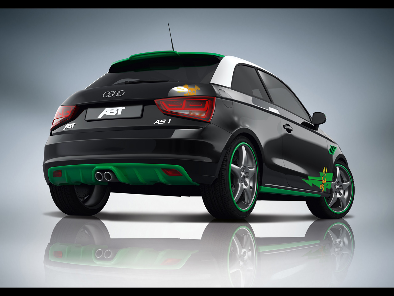 AUDI A1 green