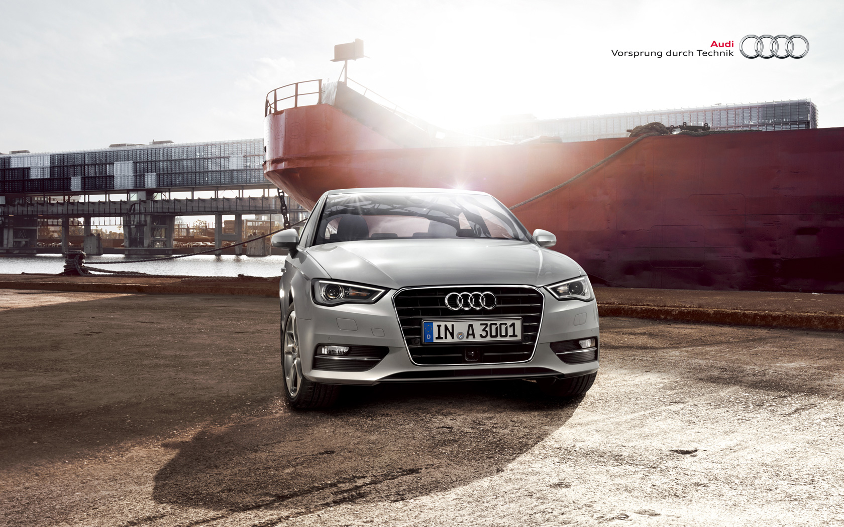 audi wallpaper (Audi A3)