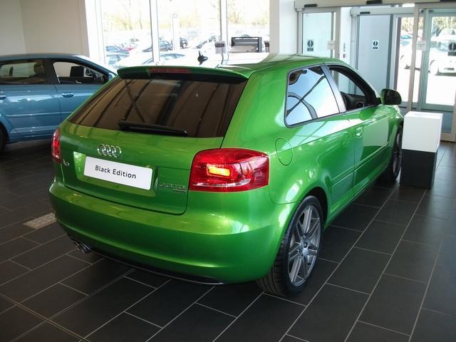 AUDI A3 green