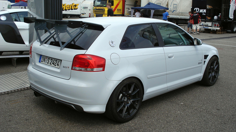 AUDI A3 white