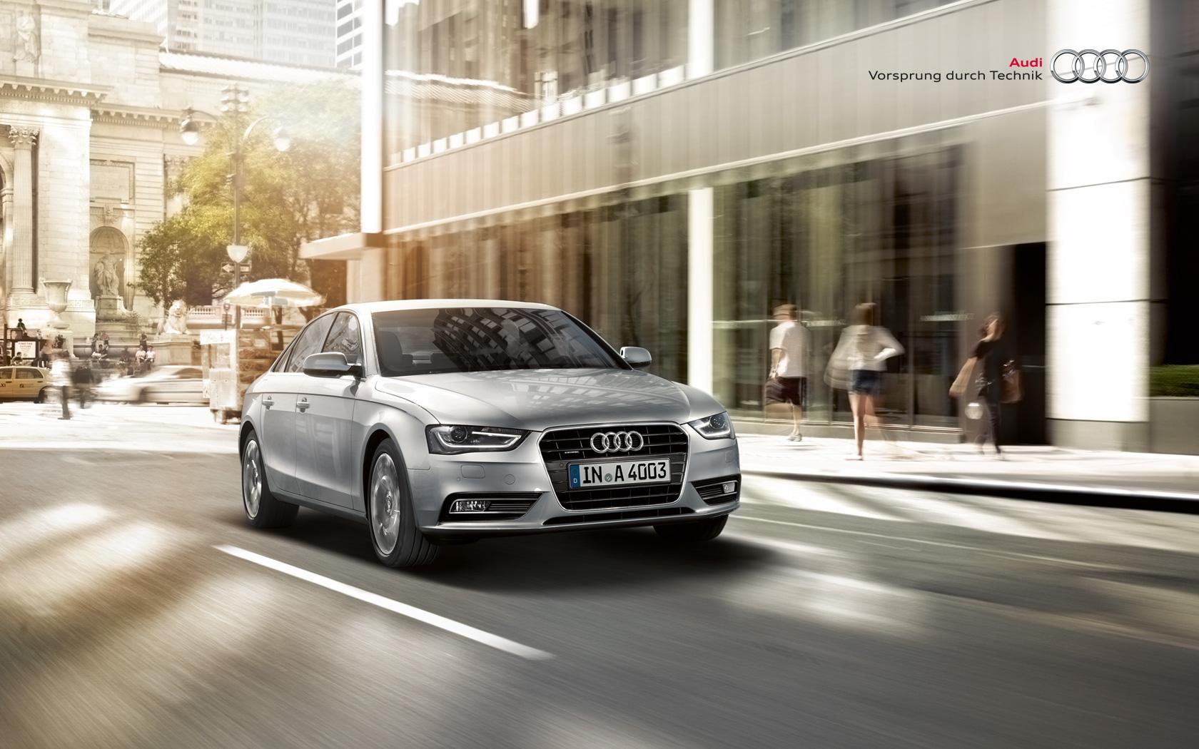 audi wallpaper (Audi A4)