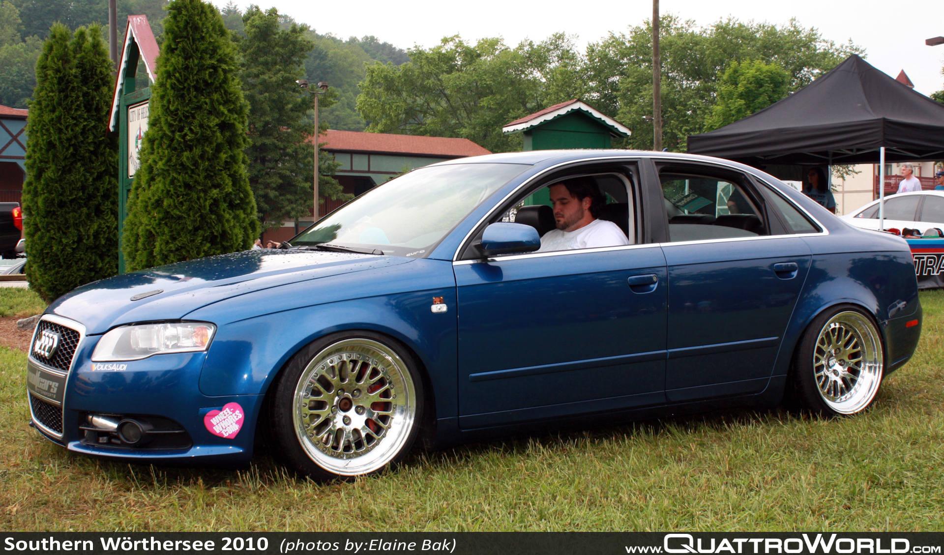 AUDI A4 blue
