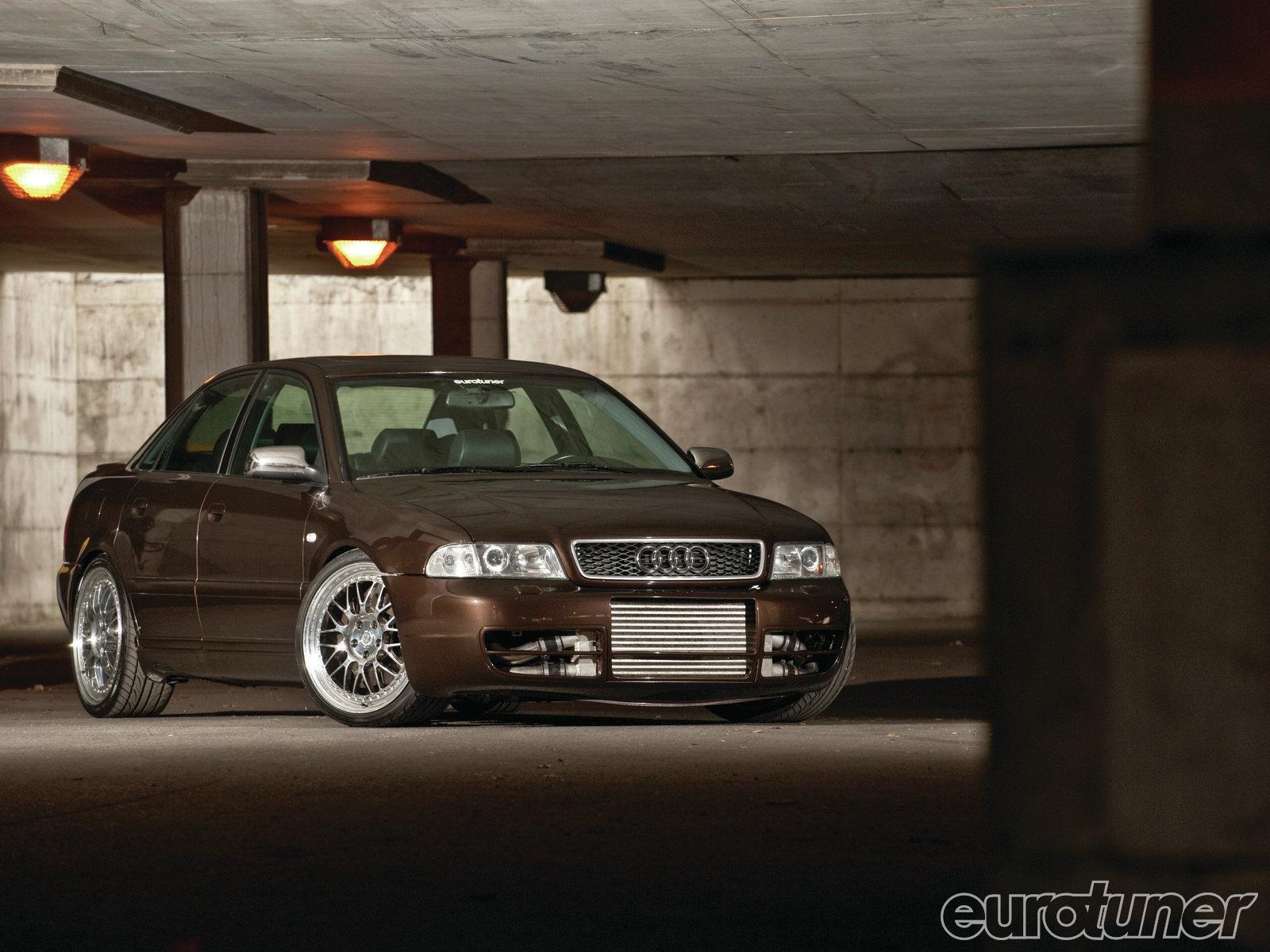 AUDI A4 brown