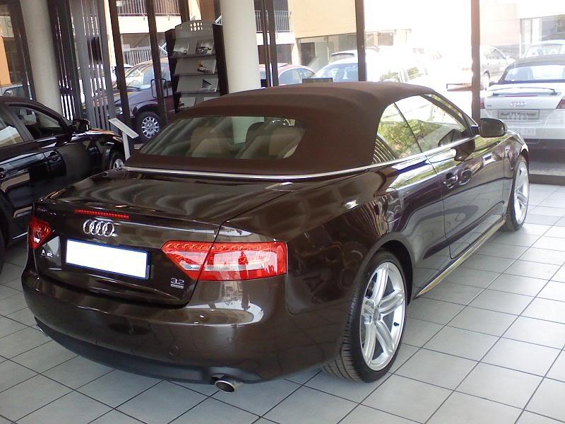 AUDI A5 brown