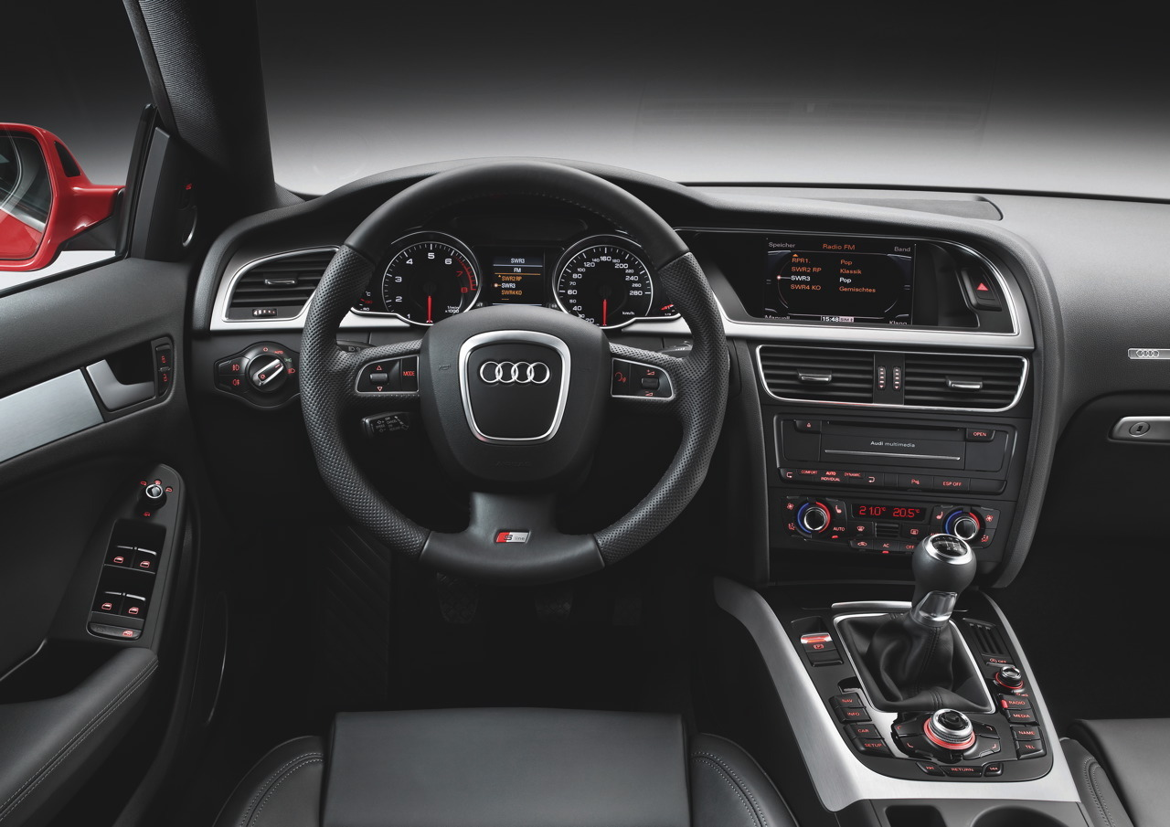 Interieur audi  AUDI A5 - Review and photos