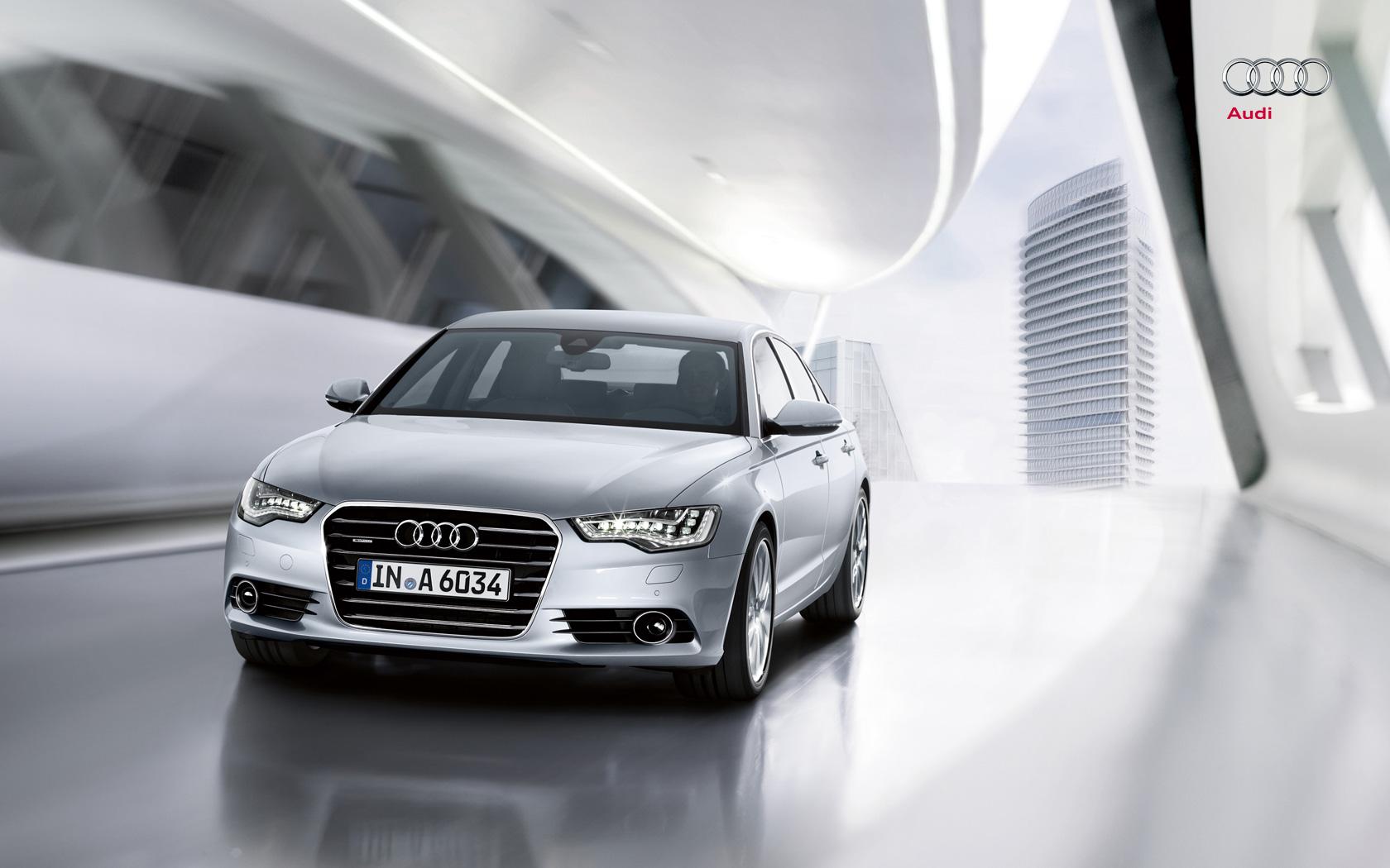 audi wallpaper (Audi A6)