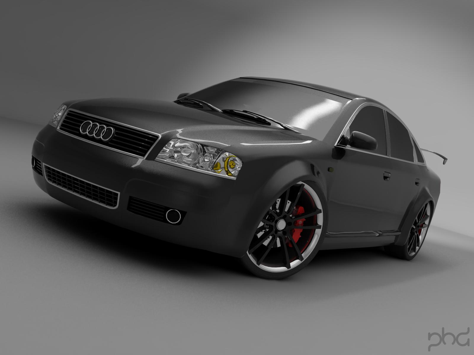 AUDI A6 black