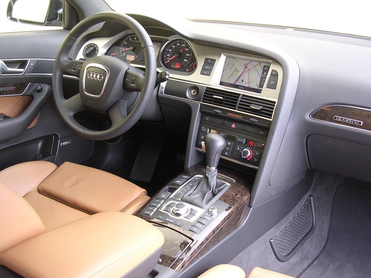 AUDI A6 brown