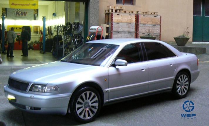 AUDI A8 silver