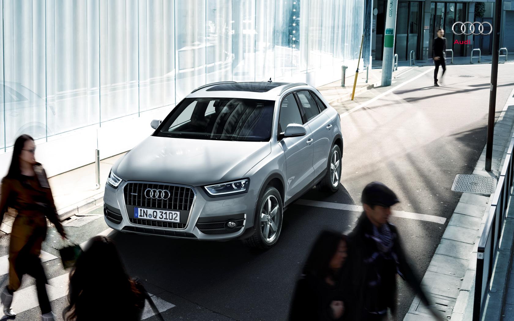audi wallpaper (Audi Q3)