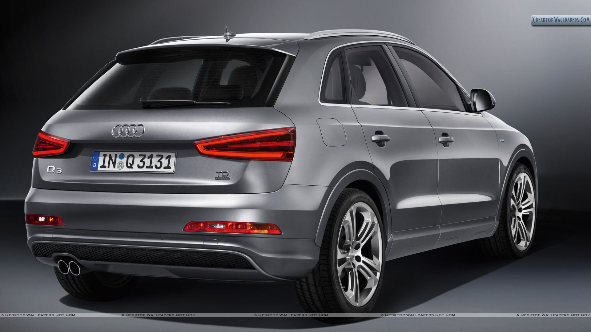 AUDI Q3 QUATTRO brown