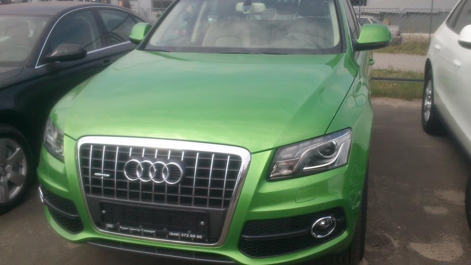AUDI Q5 green