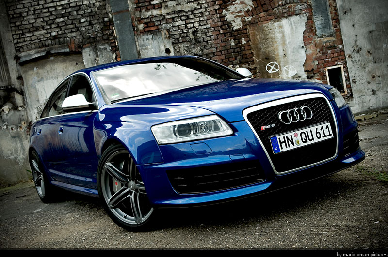 Audi rs6 avant v10 2008