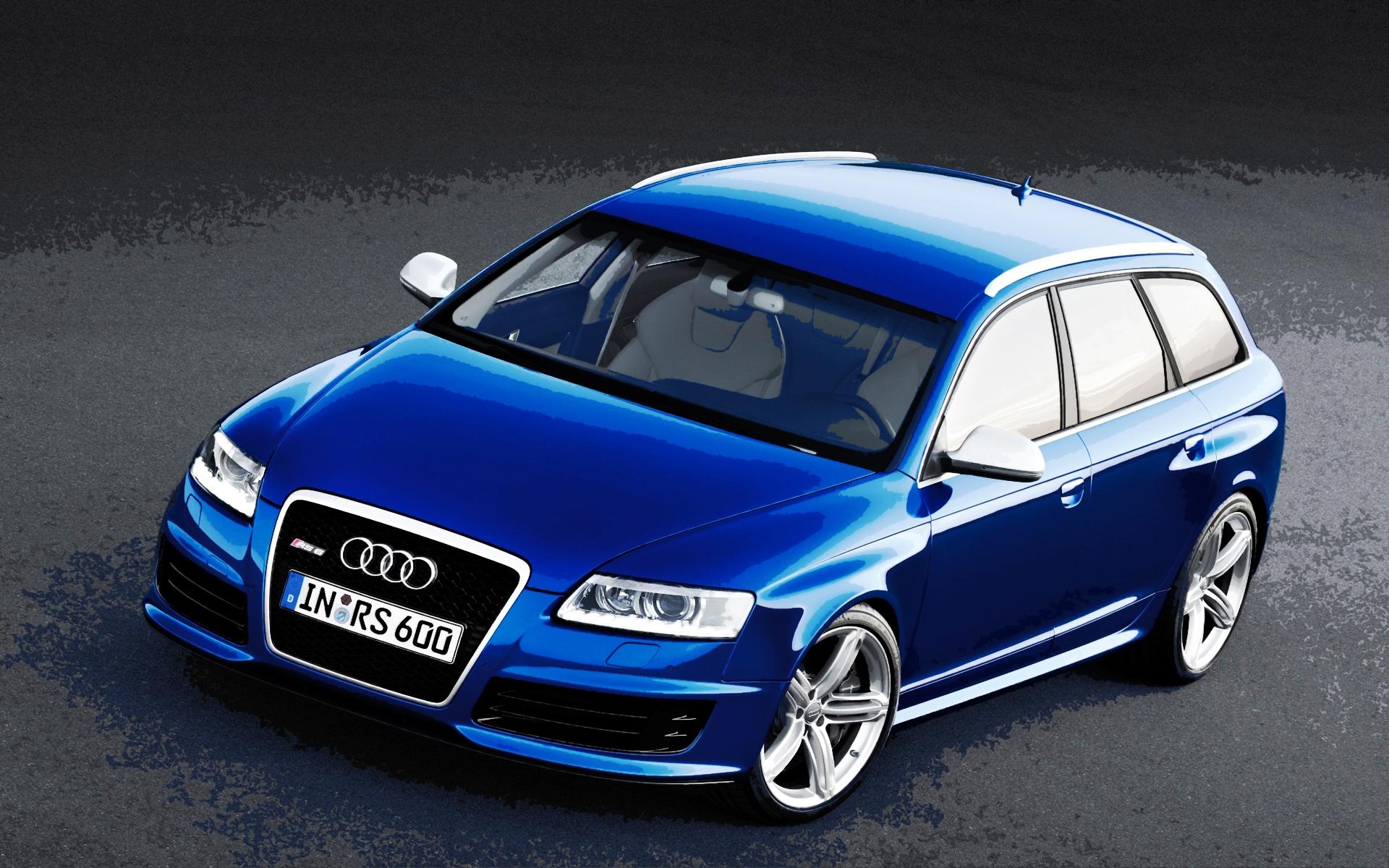 AUDI RS 6 blue