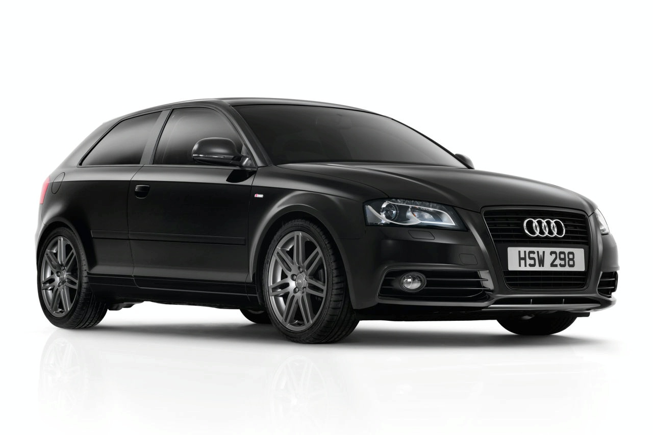 AUDI S3 black