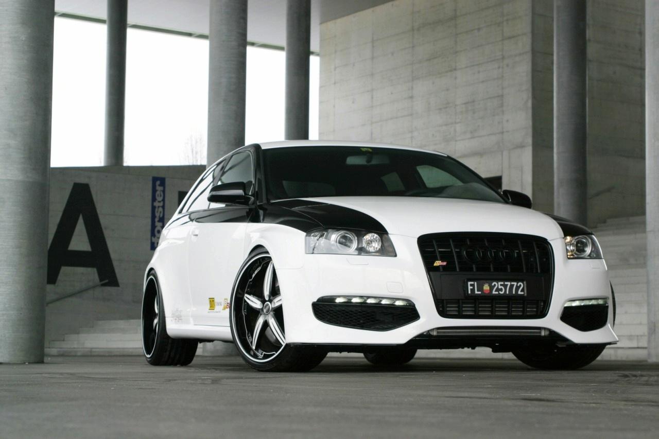 AUDI S3 white