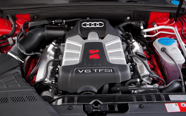 AUDI S4 engine