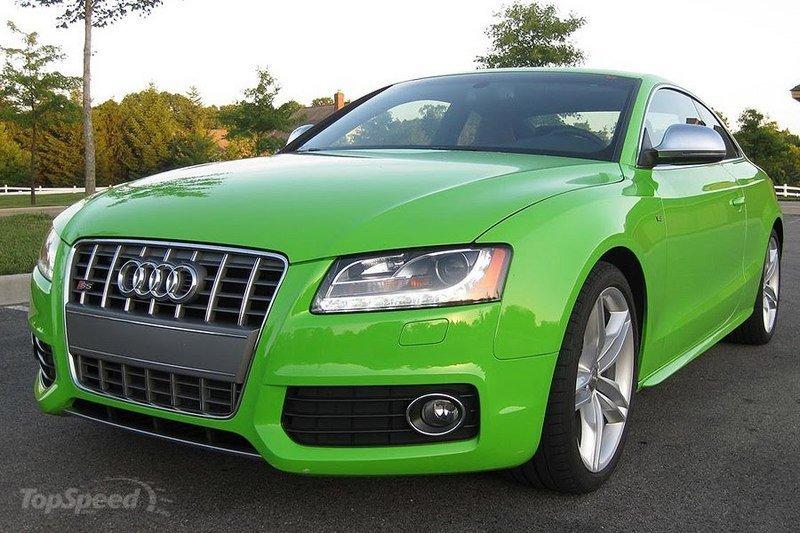 AUDI S5 3.0 green
