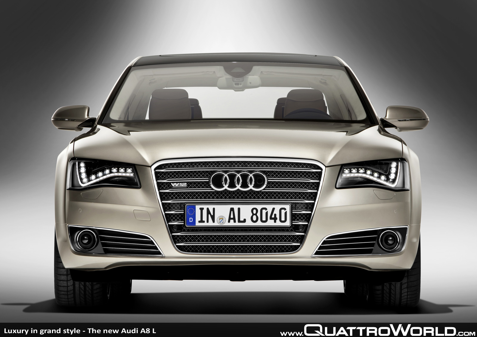 AUDI S8 4.2 QUATTRO TIPTRONIC brown