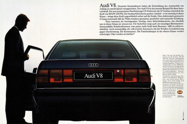 AUDI V8 3.6 QUATTRO black