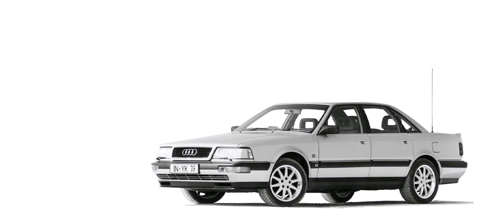 AUDI V8 3.6 QUATTRO red