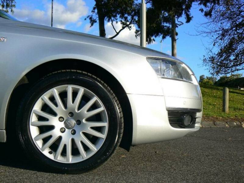 AUDI V8 3.6 QUATTRO silver