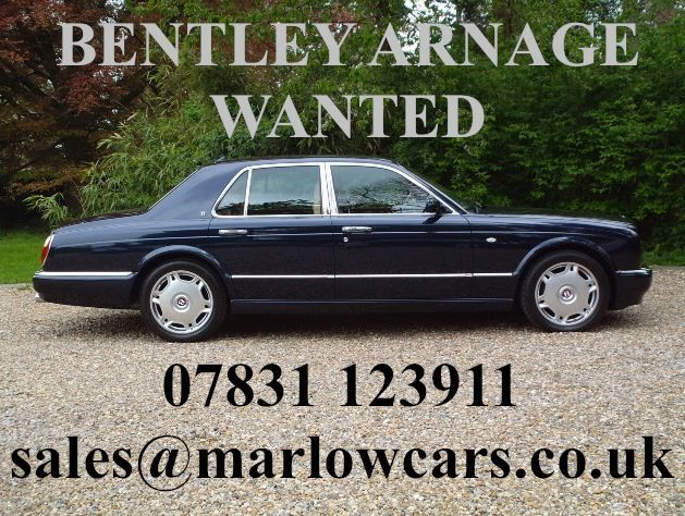 BENTLEY ARNAGE 6.8 engine