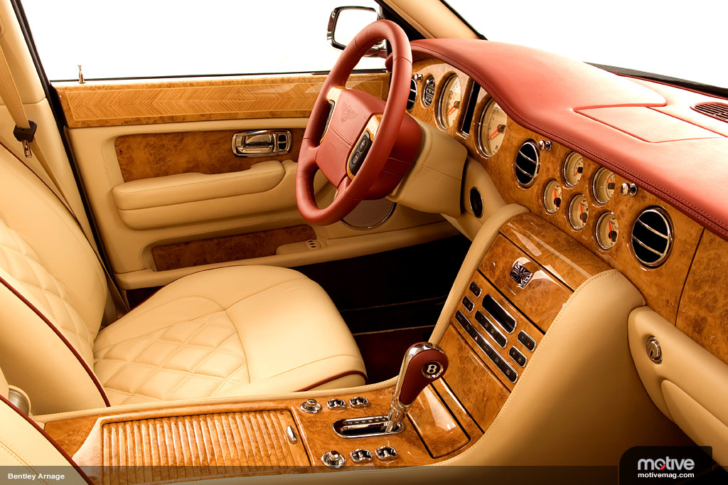 BENTLEY ARNAGE 6.8 interior