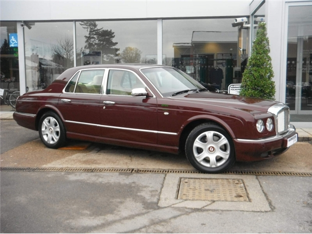 BENTLEY ARNAGE 6.8 silver