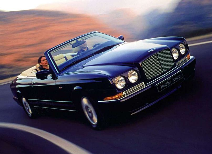 BENTLEY AZURE CONVERTIBLE black
