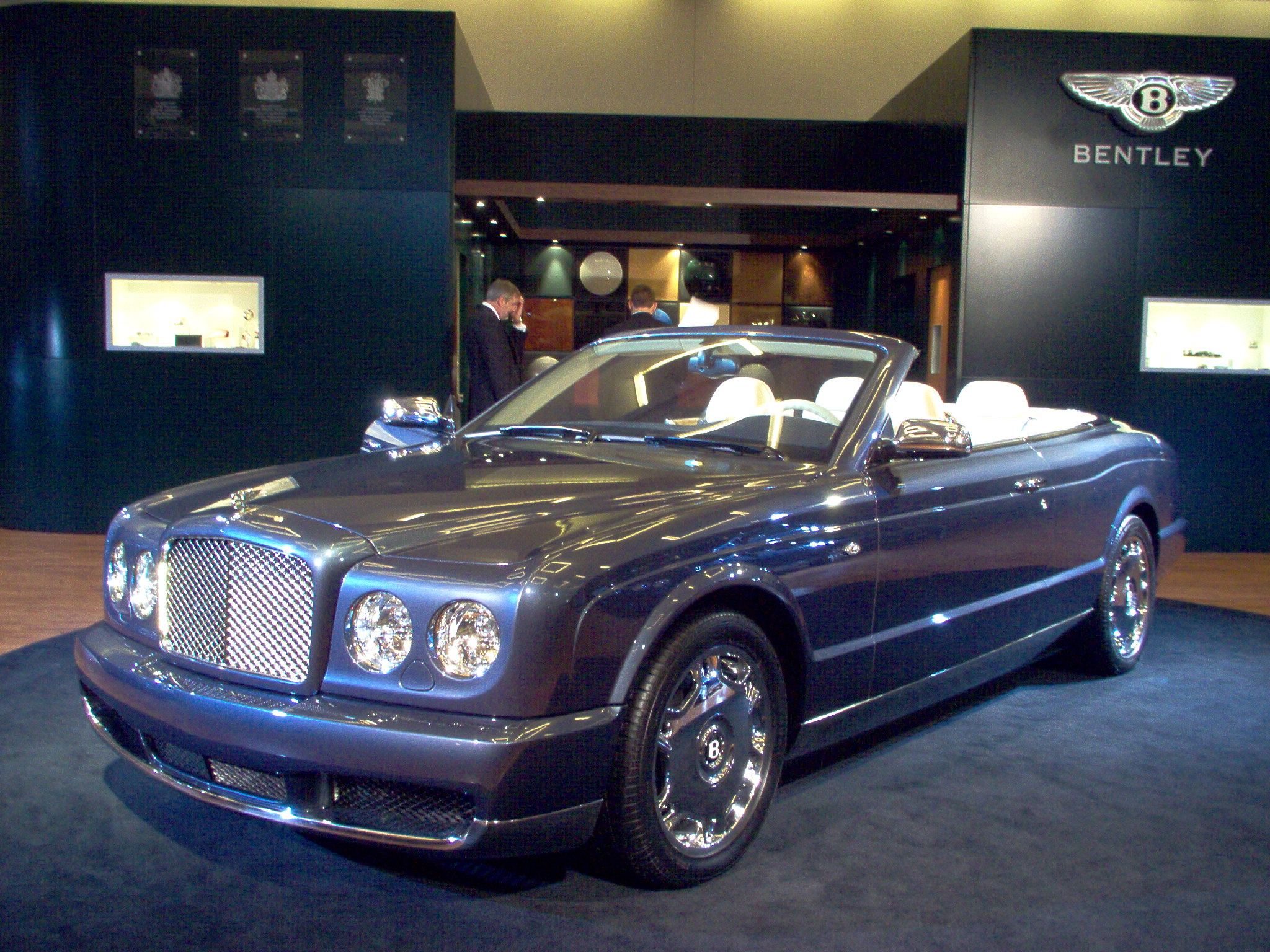 BENTLEY AZURE CONVERTIBLE blue