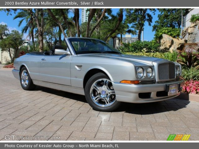 BENTLEY AZURE CONVERTIBLE silver